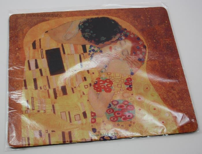 mousepad handauflage gustav klimt der kuss ebay. Black Bedroom Furniture Sets. Home Design Ideas