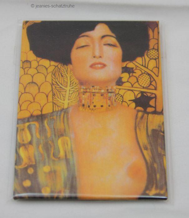 Magnetic Pin Fridge Magnet Gustav Klimt Judith 4031172183167 | eBay